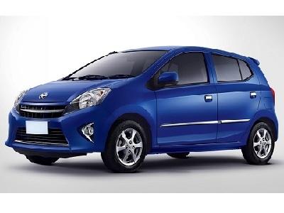 Toyota Agya Matic Rp. 200.000/hari